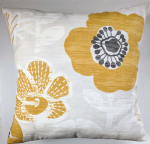 "Cushion Cover in Next Ochre Bold Floral 16"" Matches Curtains"